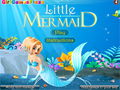 Logħba Little Mermaid Dress Up  online - logħob online